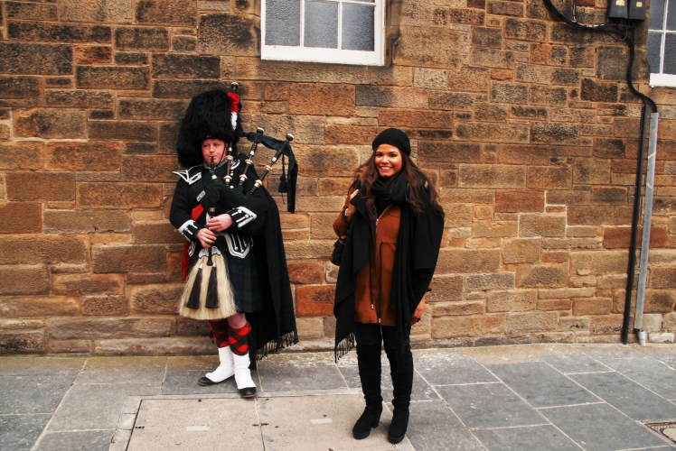 Bagpipe-player
