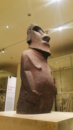 A Moai-statue from Easter Island.