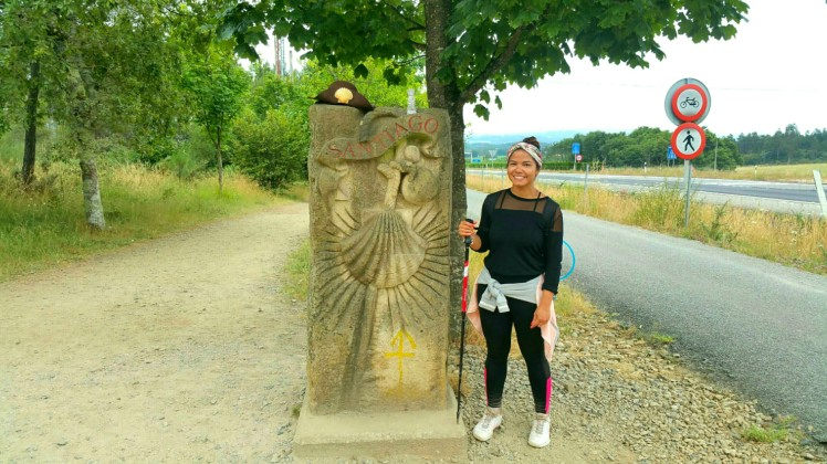 Camino-entrance-Santiago