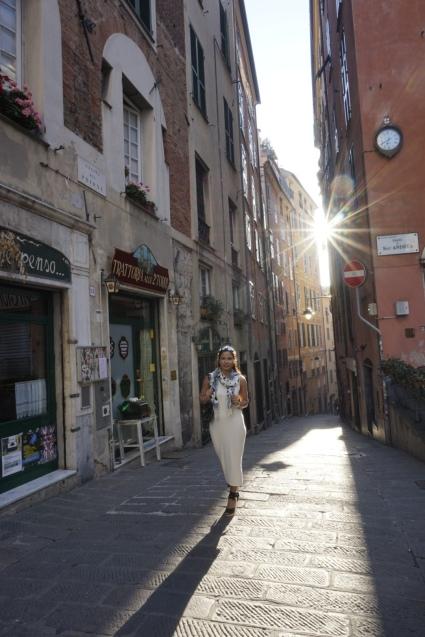 Loved walking through the alleyways!