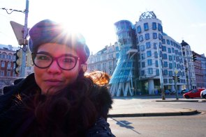 "Prague's ""Dancing House"""